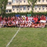 Coláiste Iognáid Junior Rugby Team and College Victor Hugo Junior Rugby Team in Narbonne – Easter 2014