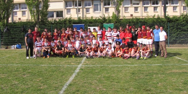 Junior Rugby Tour to Narbonne Easter 2014