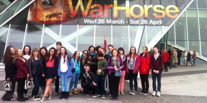 Senior Book Club and TY Library Crew at 'War Horse'