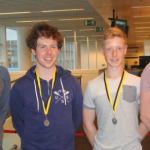 Selected for the Irish squad (l to r) Alex Coyne, Darragh McCarthy, Donal Coen, Luke Rigney
