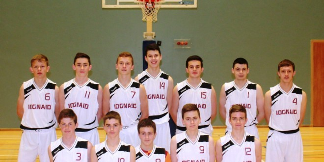 Under-16 Boys Basketball in All-Ireland Semi-Final