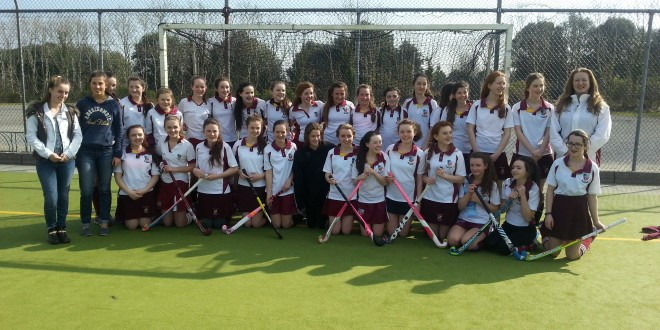 First year Jes Colaiste Iognaid Hockey Team 2015.