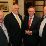 Ger O'Maille, Billy Lawless, Sean O'Rourke, Leo Wall
