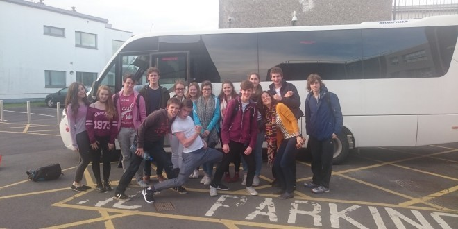 LEAVING CERT MUSIC STUDENTS' TRIP TO LIMERICK, 14TH OF OCTOBER 2015