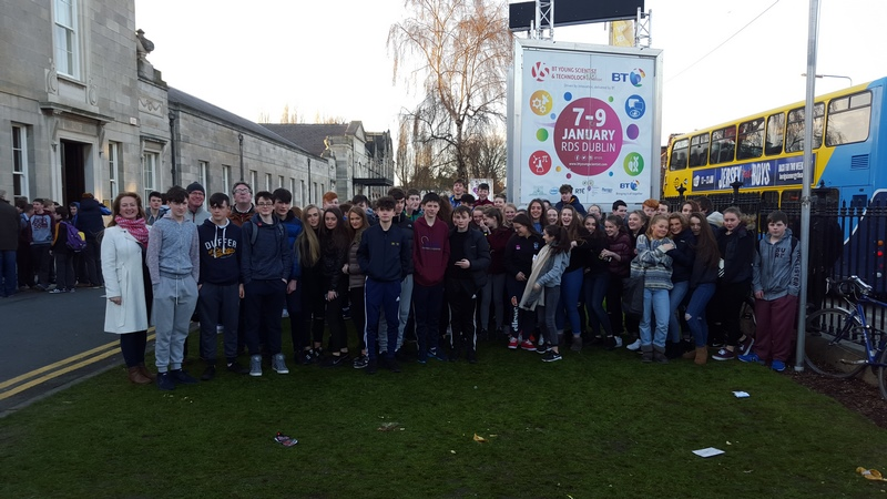 3RD YEAR TRIP TO BT YOUNG SCIENTISTS EXHIBITION, DUBLIN