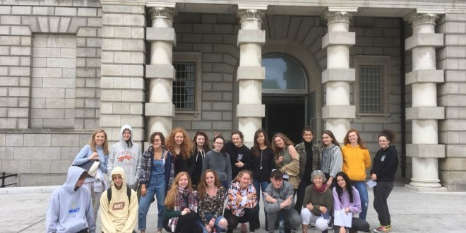 SENIOR CYCLE ART GROUP VISIT TO NATIONAL GALLERY